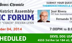 Press Release from Northwest Bronx Democrats Regarding Rescheduled Forum