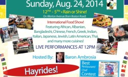 7th Annual Allerton Ave & International Food Show on Sunday August 24th from 12pm-5pm