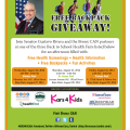 Bronx CAN Backpack Giveaway Flyer