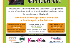 Senator Rivera Kicks off Fourth Year of Bronx CAN