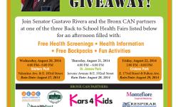 Senator Rivera Kicks off Fourth Year of Bronx CAN