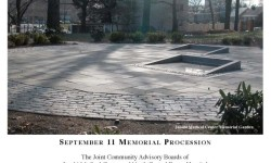 September 11th Memorial Ceremony At Jacobi Medical Center
