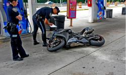 Motorcyclist Dies in Crash On Deegan