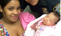 Police Officer Saves Baby