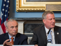Mayor DeBlasio's Roundtable Discussion On NYPD/Community Relations Last Week