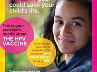 City Health Dept. Launches Ad Campaign Highlighting Cancer-Prevention Benefits Of HPV Vaccine