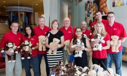 Kids at The Children's Hospital at Montefiore Received Visit from MLB Umpires Bringing Build-A-Bear Toys