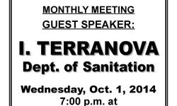 Van Nest Neighborhood Alliance October Meeting