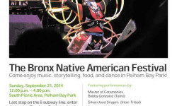 The Bronx Native American Festival-September 21st