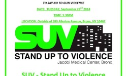 Stand Up to Violence