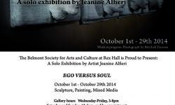 Belmont Society of Arts & Culture Presents Sculptor Jeanine Alfieri