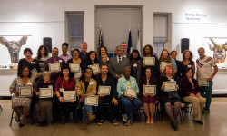 Bronx Park Leaders Honored at Partnerships for Parks Ceremony