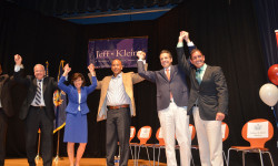 Gov. Cuomo & Lt. Gov Candidate Kathy Hochul Rally Dems for Klein Reelection