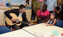 Nick Jonas Visited Montefiore