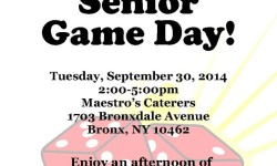 Assemblyman Mark Gjonaj & WellCare Health Plans Presents Senior Game Day