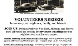 Voices from East of Bronx Park: Learn to Preserve Bronx History