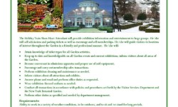 Job Fair at The New York Botanical Garden Holiday Train Show