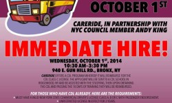 Council Member Andy King to Host Job recruitment Session for Drivers on Oct. 1