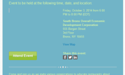 You're Invited to Sustainable Restaurant Fair