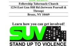 Bronx SUV – Volunteers Needed