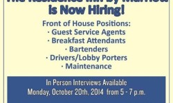 Marriott Residence Inn Hiring Event