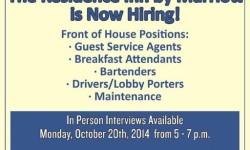 Marriott Residence Inn Hiring Event