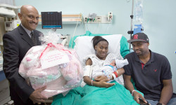 The NCBH Stork has Landed with Healthy New Bundle of Joy