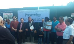 """KLEIN, SEPULVEDA & CASTLE HILL RESIDENTS TAKE ON PROPOSED """"HOT SHEET MOTEL"""" with COMMUNITY RALLY"""