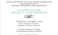 BP Diaz & Bronx Community College Host Centennial Reception