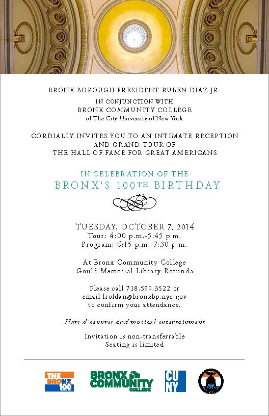 Bronx Centennial Reception Invite and Directions_Page_1