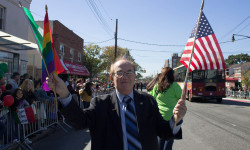 I Marched in The Bronx Columbus Day Parade with a Rainbow Flag.  Here's Why.