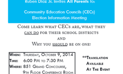 CEC Election Information Meeting