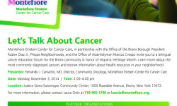 Let's Talk About Cancer Event
