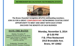 Bronx Chamber of Commerce Membership Recognition
