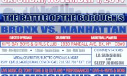 Come Out November 1st – Manhattan vs Bronx (Battle of the Borough's)