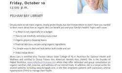 Free adult program at NY Public Library's Pelham Bay branch on Oct 10, 2014