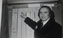 Here I am voting circa 1975. I have voted in every primary and Genersl election since 1964 when I turned 21. I hope all residents vote in every election