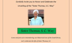 Sister Thomas, S.C. Street Re-naming