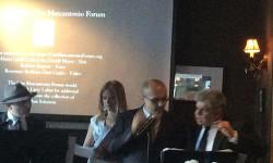 Pictured: Roberto Ragone; Marilyn Ocasio; Eduardo Sanchez and; Art Bernal.  Photo: Sarah Marcantonio Coursey