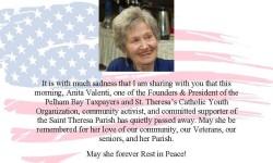 Rest in Peace Anita Valenti