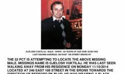 Missing Person – Gjelosh Vuktilaj