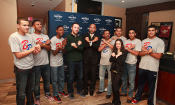 BOROUGH PRESIDENT DIAZ, AT&T HOST CELEBRATION AT YANKEE STADIUM FOR BOROUGH PRESIDENT'S CUP LITTLE LEAGUE PLAYERS AND THEIR FAMILIES