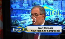 Last Night's BronxTalk: NYC Comptroller Scott Stringer