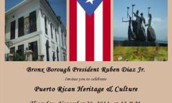 Bronx Borough President Invites you to celebrate…..