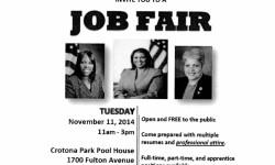 Job Fair – November 11th