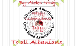 Happy Albanian Independence Day! from Albanian American Open Hand Association