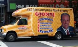 Assemblyman Gjonaj Mobile office in Norwood Every Wednesday
