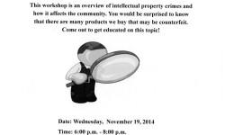 """FREE informative workshop on """"Knock-Offs"""""""