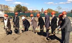 Congressman Serrano Participates in Bronx River House Groundbreaking Ceremony