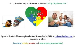 Autism Family Night — Co-Op City